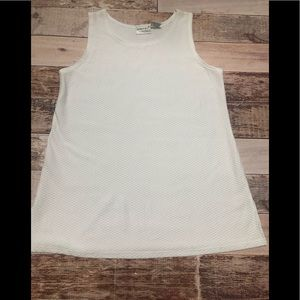 Fashion Bug white sleeveless tunic size xl 🎈